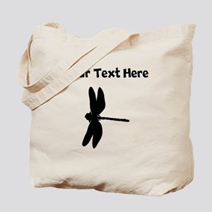 Dragonfly Silhouette Tote Bag