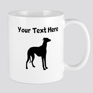 Greyhound Silhouette Mugs
