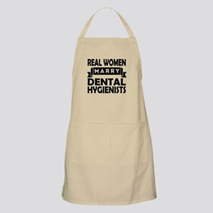 Real Women Marry Dental Hygienists Apron