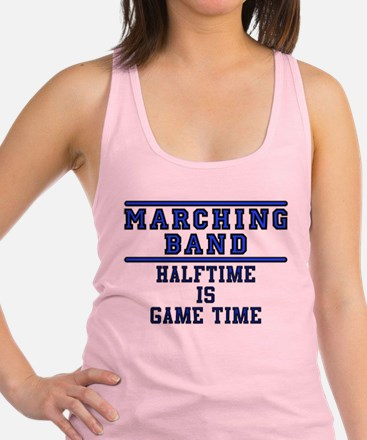 Halftime Is Game Time Racerback Tank Top