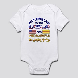 USA/Vietnamese Parts Infant Creeper
