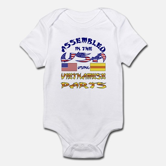 USA/Vietnamese Parts Infant Creeper