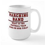 Football On Our Field Large Mug