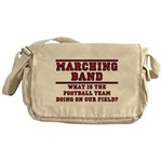 Football On Our Field Messenger Bag