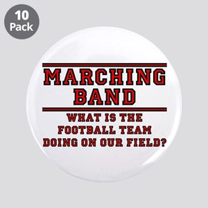 """Football On Our Field 3.5"""" Button (10 pack)"""