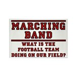 Football On Our Field Rectangle Magnet (100 pack)
