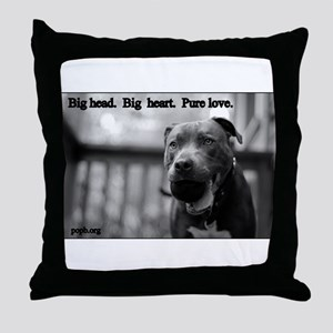 Boomer Pure Love Throw Pillow