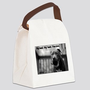 Boomer Pure Love Canvas Lunch Bag