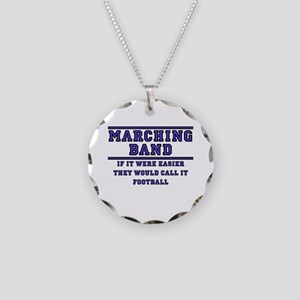 If It Were Easier Necklace Circle Charm