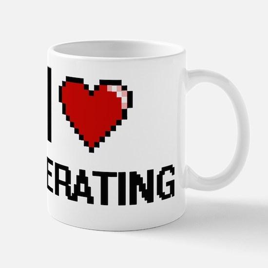 Cute I overate Mug
