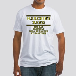 Football At Halftime Fitted T-Shirt