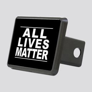 All Lives Matter Rectangular Hitch Cover