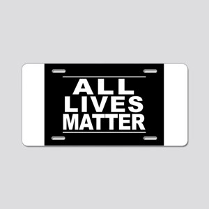 All Lives Matter Aluminum License Plate