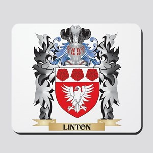 Linton Coat of Arms - Family Crest Mousepad