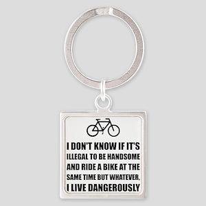 Handsome Ride Bike Keychains