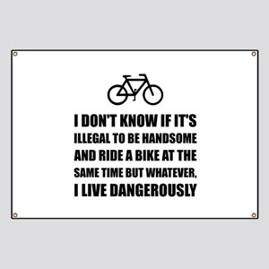 Handsome Ride Bike Banner