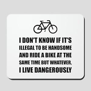 Handsome Ride Bike Mousepad