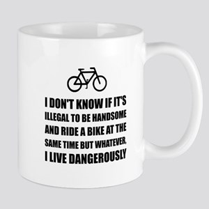 Handsome Ride Bike Mugs