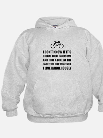 Handsome Ride Bike Hoodie