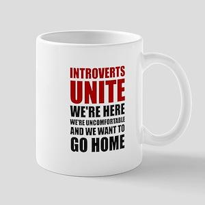 Introverts Unite Mugs