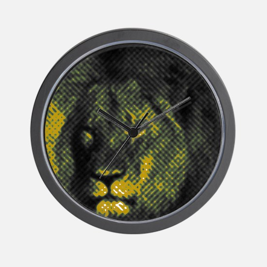 Tribute To Cecil The Lion Wall Clock