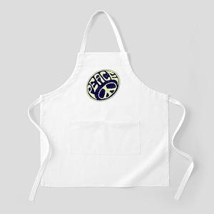 Vintage Peace Symbol #V9 BBQ Apron