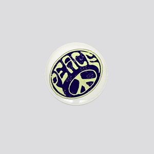 Vintage Peace Symbol #V9 Mini Button