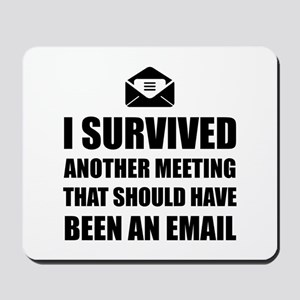 Meeting Email Mousepad