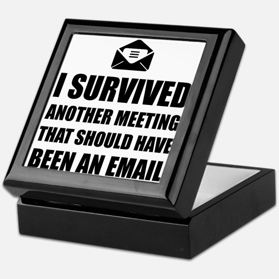 Meeting Email Keepsake Box
