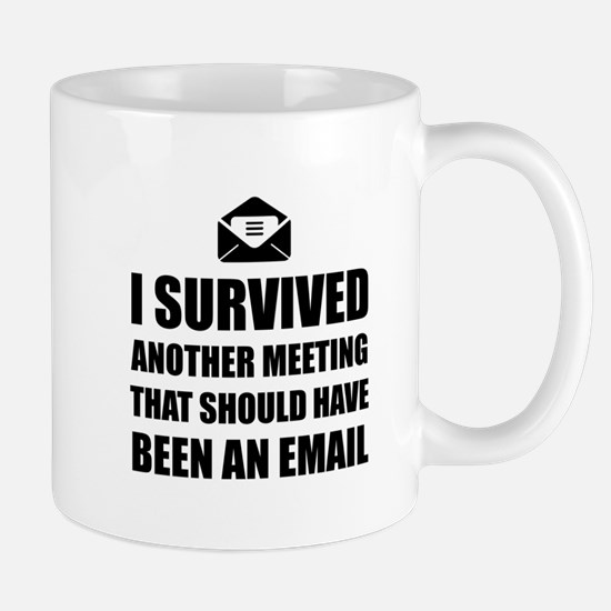 Meeting Email Mugs