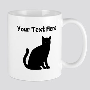 Cat Silhouette Mugs