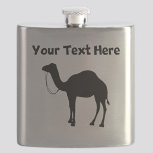 Camel Silhouette Flask