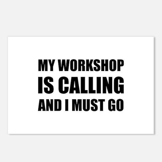 Workshop Calling Postcards (Package of 8)