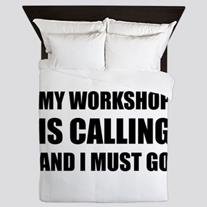 Workshop Calling Queen Duvet