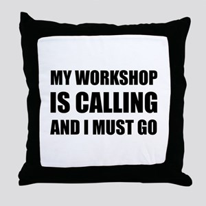 Workshop Calling Throw Pillow