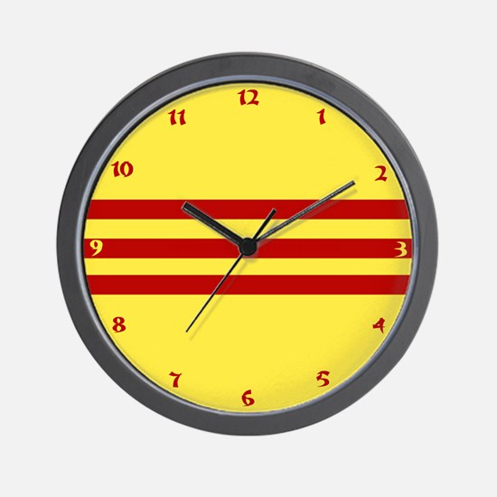 Vietnam 2 Wall Clock