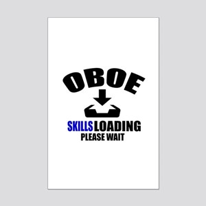Oboe Skills Loading Please Wait Mini Poster Print