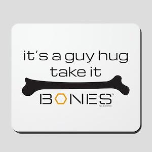 Bones Guy Hug Mousepad
