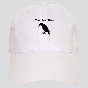 Crow Silhouette Baseball Cap