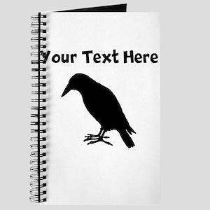 Crow Silhouette Journal