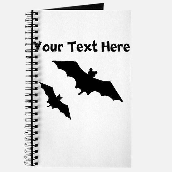 Bats Silhouette Journal