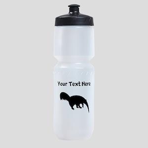 Anteater Silhouette Sports Bottle