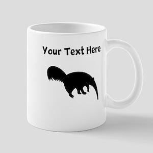 Anteater Silhouette Mugs