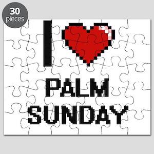 I Love Palm Sunday Puzzle