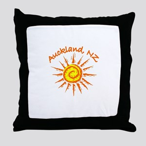 Auckland, New Zealand Throw Pillow
