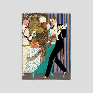 Barbier Tango Romance 5'x7'area Rug