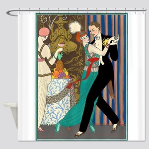 Barbier Tango Romance Shower Curtain