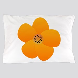 Sunny Bright Anemone Pillow Case