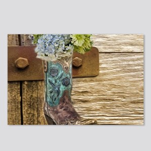 flower western country co Postcards (Package of 8)
