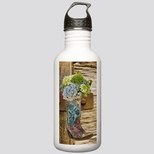 flower western country Stainless Water Bottle 1.0L